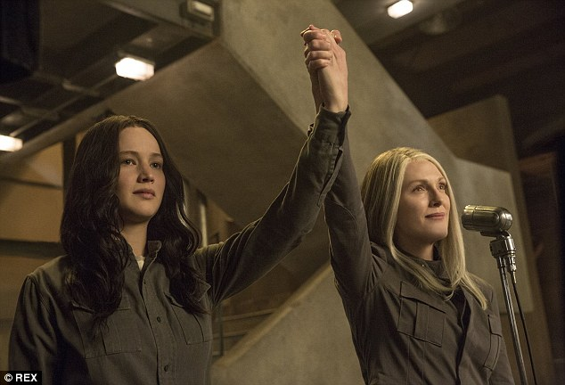 Reuniting with Jennifer Lawrence: Julianne will next conclude her role as President Alma Coin in The Hunger Games: Mockingjay - Part 2, hitting US/UK theatres on November 20