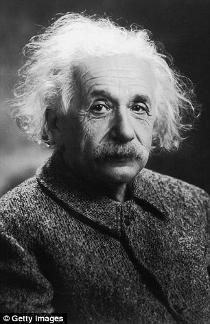 Many believe Albert Einstein (pictured) failed maths at school, but he actually only failed one entry exam and excelled in mathematics