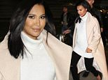 Picture Shows: Naya Rivera  April 23, 2015\n \n Actresses, Michelle Trachtenberg and pregnant Naya Rivera are seen arriving on a flight at the Washington Reagan National Airport in Washington DC. The pair are in town to attend the White House Correspondents Dinner. \n \n Non-Exclusive\n UK RIGHTS ONLY\n \n Pictures by : FameFlynet UK © 2015\n Tel : +44 (0)20 3551 5049\n Email : info@fameflynet.uk.com