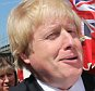 Image licensed to i-Images Picture Agency. 23/04/2015. London, United Kingdom. Boris Johnson holds a baby whilst campaigning at a St.George's Day street festival in Sutton, Surrey, United KIngdom.  Picture by Stephen Lock / i-Images