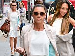 Picture Shows: Michelle Heaton  April 23, 2015    Michelle Heaton seen out and about in London. Michelle was dressed for Spring in a pink blazer, white top and skirt with grey pumps.    Non-Exclusive  Worldwide Rights    Pictures by : FameFlynet UK © 2015  Tel : +44 (0)20 3551 5049  Email : info@fameflynet.uk.com