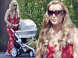 23 APR 2015 - MANCHESTER - UK\n*** EXCLUSIVE ALL ROUND PICTURES TO ALL UK NEWSPAPERS ***\n*** STRICTLY NOT AVAILABLE FOR MAIL ONLINE AND ANY ONLINE SUBSCRIPTION DEALS UNLESS FEE AGREED PRIOR TO USAGE***\nCORONATION STREET ACTRESS CATHERINE TYLDESLEY PICTURED SHOWING HER POST PREGNANCY FIGURE IN A FLORAL MAXI DRESS AS SHE'S PICTURED OUT AND ABOUT WITH HER NEWBORN BABY SON ALFIE IN MANCHESTER.\nBYLINE MUST READ : XPOSUREPHOTOS.COM\n***UK CLIENTS - PICTURES CONTAINING CHILDREN PLEASE PIXELATE FACE PRIOR TO PUBLICATION ***\n**UK CLIENTS MUST CALL PRIOR TO TV OR ONLINE USAGE PLEASE TELEPHONE 44 208 344 2007**