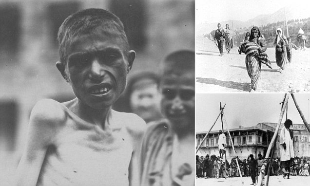 Armenian 'genocide' photo collection shows world the true horror