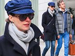 Picture Shows: Anne Hathaway, Adam Shulman  April 23, 2015\n \n Couple, Anne Hathaway and Adam Shulman are spotted out for a stroll together in New York City, New York. Anne will celebrate three years of marriage with her sweetheart Adam in September.\n \n Non-Exclusive\n UK RIGHTS ONLY\n \n Pictures by : FameFlynet UK © 2015\n Tel : +44 (0)20 3551 5049\n Email : info@fameflynet.uk.com