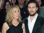 Arrivals for the European Premiere of The Avengers Age of Ultron  Pictured: Sam & Aaron Taylor Johnson Ref: SPL1000411  210415   Picture by: Splash News  Splash News and Pictures Los Angeles: 310-821-2666 New York: 212-619-2666 London: 870-934-2666 photodesk@splashnews.com