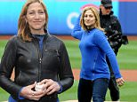 Actress Edie Falco throws out the first pitch before the game between the NY Mets and the Atlanta Braves at Citi Field on April 23, 2015 in Flushing, New York.\n\nPictured: Edie Falco\nRef: SPL1007291  230415  \nPicture by: Jackie Brown / Splash News\n\nSplash News and Pictures\nLos Angeles: 310-821-2666\nNew York: 212-619-2666\nLondon: 870-934-2666\nphotodesk@splashnews.com\n