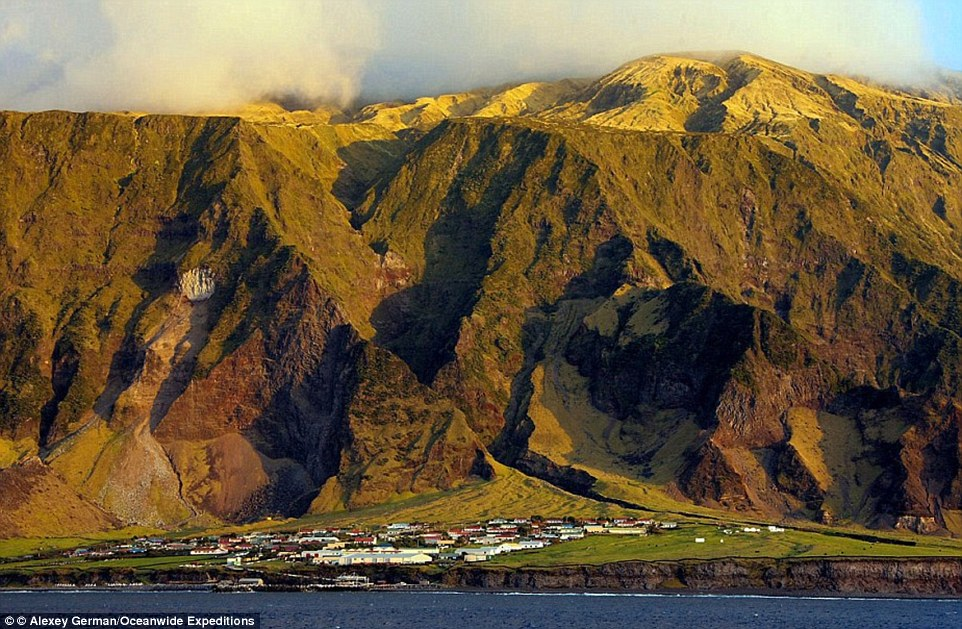 The most remote location in the world: Tristan da Cunha is situated over a thousand miles from the nearest land and has 300 residents