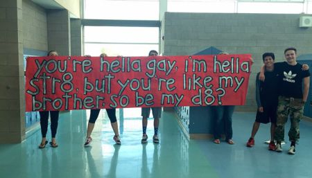 Jacob Lescenski asked his gay best friend Anthony Martinez to prom