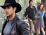 Picture Shows: Jesse Metcalfe  April 23, 2015\n \n ** Min Web / Online Fee £150 For Set **\n \n Actors Jesse Metcalfe and Autumn Reeser film scenes for the Hallmark TV movie 'A Country Wedding' in Chilliwack, Canada. Metcalfe plays a country music superstar whose plans to marry his movie star fiance become complicated when he reconnects with a childhood friend, played by Reeser, from his rural hometown.\n \n ** Min Web / Online Fee £150 For Set **\n \n Exclusive All Rounder\n UK RIGHTS ONLY\n Pictures by : FameFlynet UK © 2015\n Tel : +44 (0)20 3551 5049\n Email : info@fameflynet.uk.com