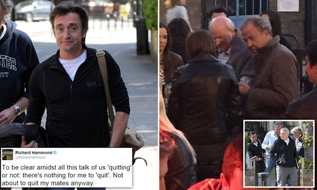 'I won't quit my mates': Richard Hammond last to rule out return to Top Gear as producer