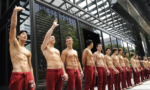 Abercrombie and Fitch vows to stop using shirtless models in its stores
