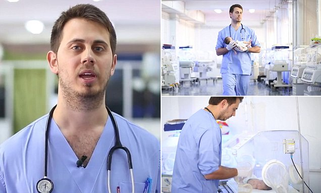 Australian doctor is the latest face of the propaganda campaign for evil terrorist