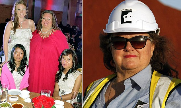 'The girls are known as my Cambodian daughters': Australia's richest person Gina Rinehart