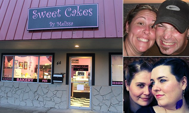 Anti-gay bakers face paying $135,000 to lesbian couple that it refused wedding cake... but