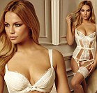 Emma Louise models for Ann Summers