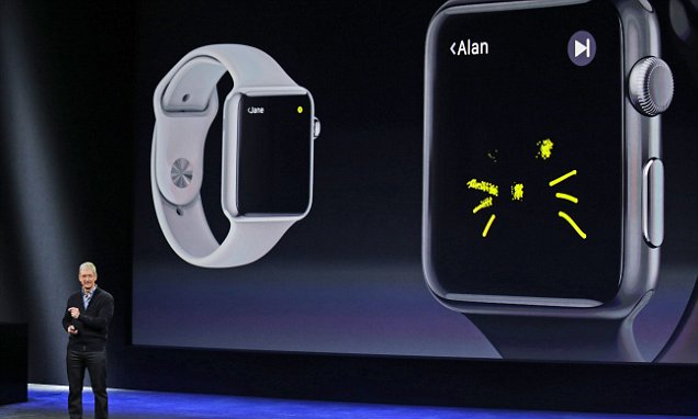 Apple smartwatch on sale from today but not on the high street