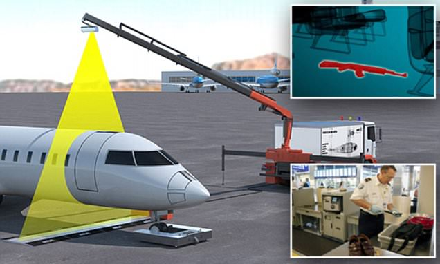 Mobile device can find weapons and drugs hidden onboard plane