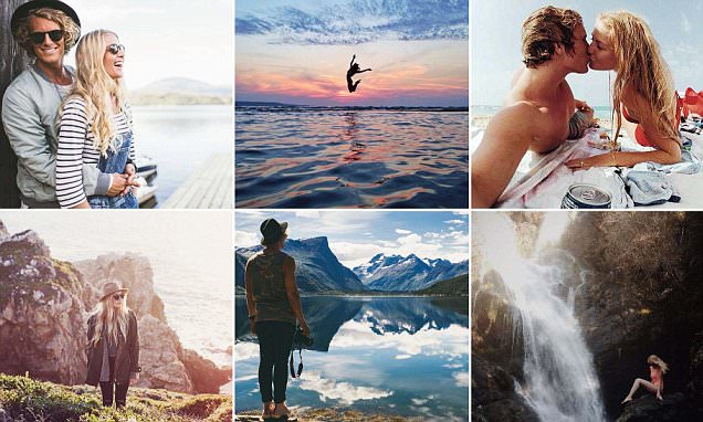 Samuel and Hildegunn Taipale's jetsetting life has made them an Instagram hit