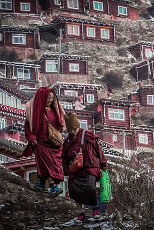China home to largest Buddhist settlement in the world