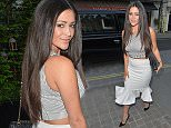 LONDON, UNITED KINGDOM - APRIL 23: Casey Batchelor seen wearing a crop top with a fish cut skirt at Chiltern Firehouse on April 23, 2015 in London, England. PHOTOGRAPH BY Eagle Lee / Barcroft Media UK Office, London. T +44 845 370 2233 W www.barcroftmedia.com USA Office, New York City. T +1 212 796 2458 W www.barcroftusa.com Indian Office, Delhi. T +91 11 4053 2429 W www.barcroftindia.com