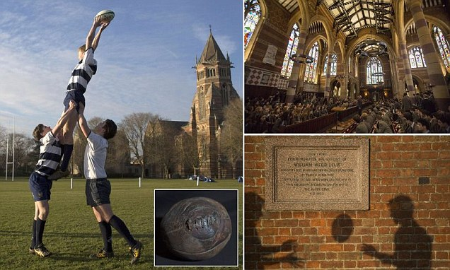 Inside the spiritual home of rugby where sport was born when William Webb Ellis first