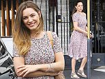 Picture Shows: Kelly Brook  April 24, 2015    British model Kelly Brook runs errands in West Hollywood, California. It's back to business as usual for Kelly, who recently enjoyed the Coachella Valley Music and Arts Festival in Indio.     Non-Exclusive  UK RIGHTS ONLY    Pictures by : FameFlynet UK � 2015  Tel : +44 (0)20 3551 5049  Email : info@fameflynet.uk.com