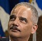 Attorney General Eric Holder waves to Justice Department during a farewell gathering at the Justice Department in Washington, Friday, April 24, 2015. Holder was bidding farewell to the Justice Department on Friday after six years as the nation's top law enforcement official. Holder was addressing employees at an afternoon ceremony one day after his chosen successor, Loretta Lynch, was confirmed by the Senate following a months-long delay.  (AP Photo/Manuel Balce Ceneta)