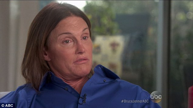 Candid: Bruce Jenner revealed his daughters Kendall and Kylie and stepdaughter Kim Kardashian all caught him dressed as a woman, but kept the 'family secret'