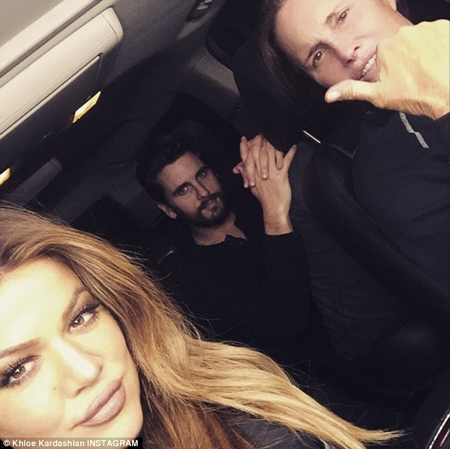 'She's very emotional': Surprisingly, Jenner's stepdaughter Khloé had the toughest time with his gender affirmation
