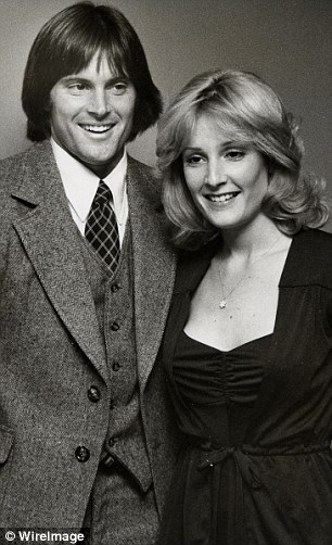 First wife: Chrystie Scott was married to Bruce from 1972 to 1981. Bruce said she was supportive but believed he might change. Scott (pictured in the 1970s) called on the world to support him