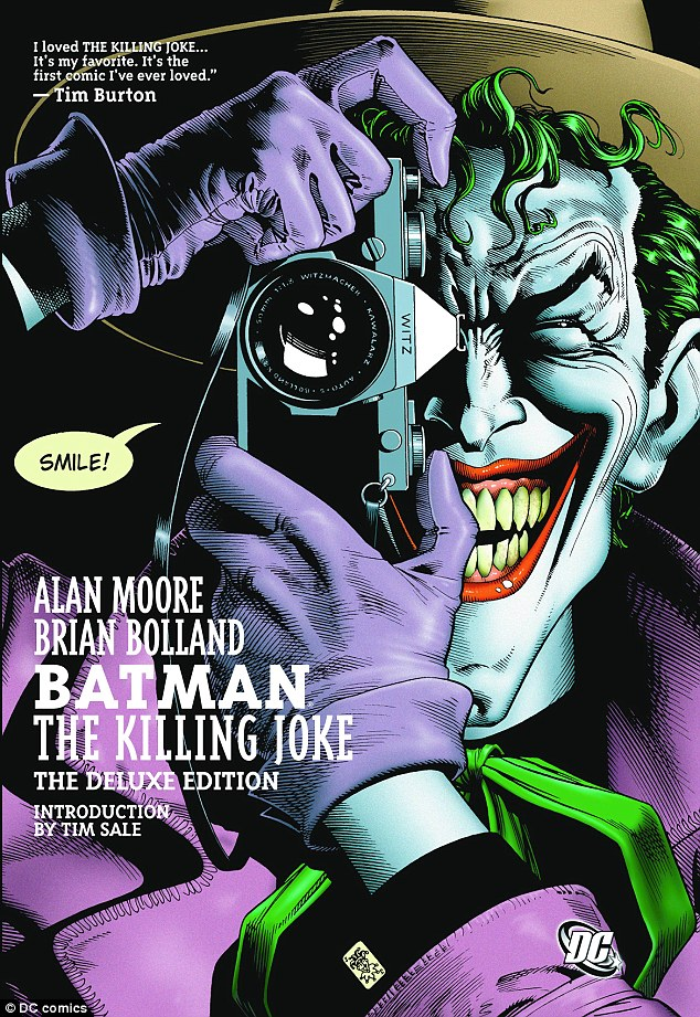 A hint at the plot? On April 9, director David Ayer tweeted a snap of Jared posing like Joker on the 1988 cover of DC Comics' Batman: The Killing Joke