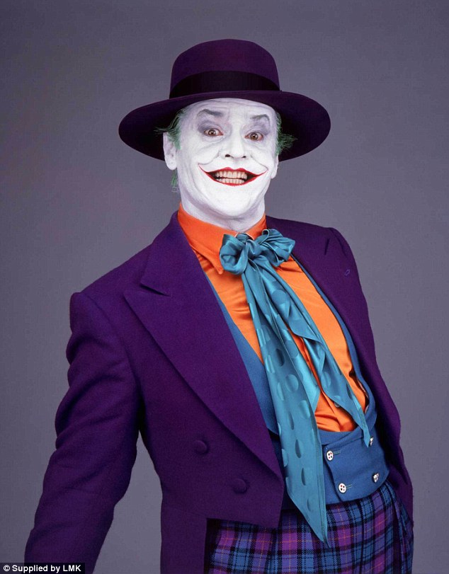 Jared will be 'fine' as Joker: Three-time Oscar winner Jack Nicholson spent two hours in the make-up chair to craft the ominous grin of his colourful, wisecracking Jack Napier