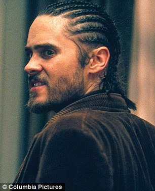 M'eh: Less memorable were Jared's portrayals of portly John Lennon assassin Mark David Chapman in Chapter 27, and a screachy cornrows-clad burglar called Junior in Panic Room