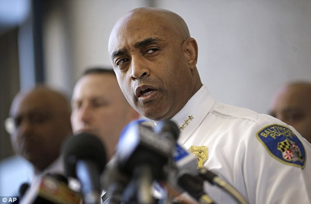 'That's not going to happen': Baltimore police commissioner Anthony Batts ruled out his resignation despite that fact that his deputy admitted they should have sought medical attention for Freddie Gray