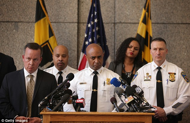 Batts addressed a news conference in Baltimore on Friday amid growing calls for him to step down