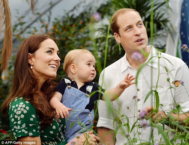 Worldwide: The story - which actually began as a book - has been picked up in Spain, but is likely to be outshone when William and Kate's second baby, and George's first sibling, is born