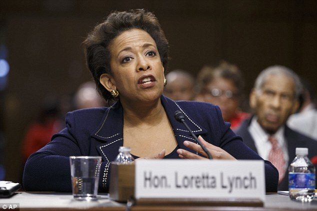 Newly confirmed Attorney General-designate Loretta Lynch will take over from Holder, following a months-long delay of her Senate confirmation vote – which passed on Thursday with 'yes' votes from 10 Republicans