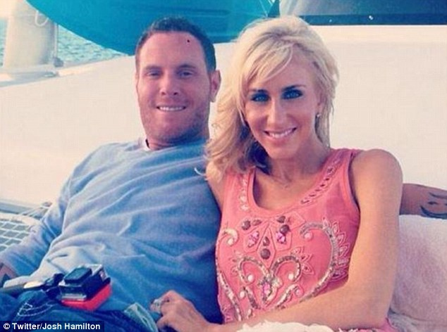 Josh Hamilton filed for divorce from his wife, Katie, in late February after they celebrated ten years together