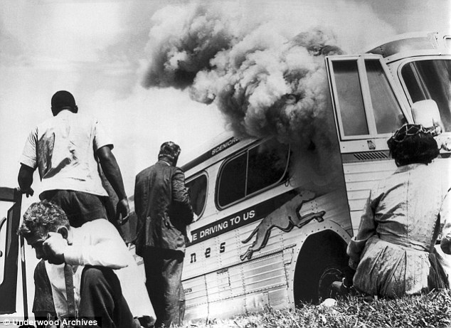 Heroes: The Freedom Riders endured violence and attack after attack as they traveled through the South in 1961. The leading historian of the movement puts their number at 436. Unlike PBS's claim, Mrs Affleck was not among them