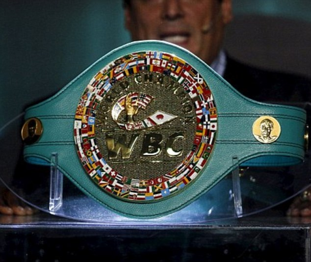 When the two decorated fighters square off on May 2, the WBO, WBA and WBC titles will all be on the line