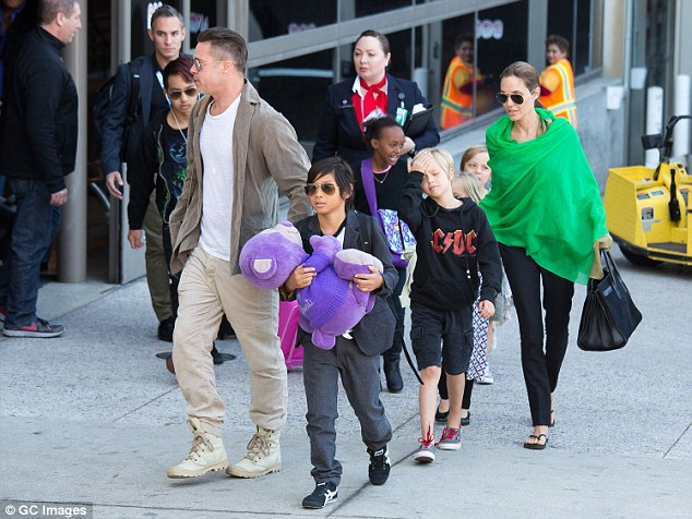 According to reports, Jolie and husband Brad Pitt were moving to adopt a child from Syria. The megastars are parents to three biological children - Shiloh, eight, and six-year-old twins Knox and Vivienne, and three adopted children, Maddox ,13, from Cambodia, Pax, 11, from Vietnam, and Zahara, 10, from Ethiopia (pictured in 2014)