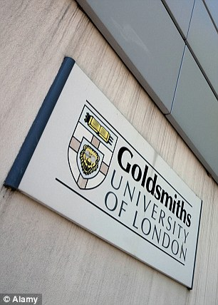 Students have reacted with anger after men and white people were banned from a 'diversity' meeting at Goldsmiths University in London