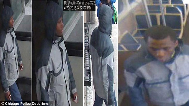 DeShawn Isabelle, 15, has been arrested for allegedly robbing, beating and sexually assaulting a woman on a Chicago train after his mother recognized his face on  surveillance images and turned him in to police