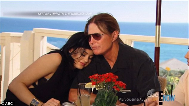 Daddy's little girl: The ABC special aired clips of Bruce and his children from their E! reality show Keeping Up With The Kardashians