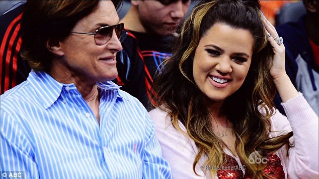 Coping: '[Khloe] had the toughest time with it, she had the most losses,' Bruce revealed