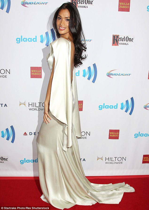 'Lives will be saved': Trans model and activist Geena Rocero praised Bruce's expected coming out, telling Paper magazine that the reality star will help other tremendously (pictured 2014 GLAAD Media Awards in May 2014)