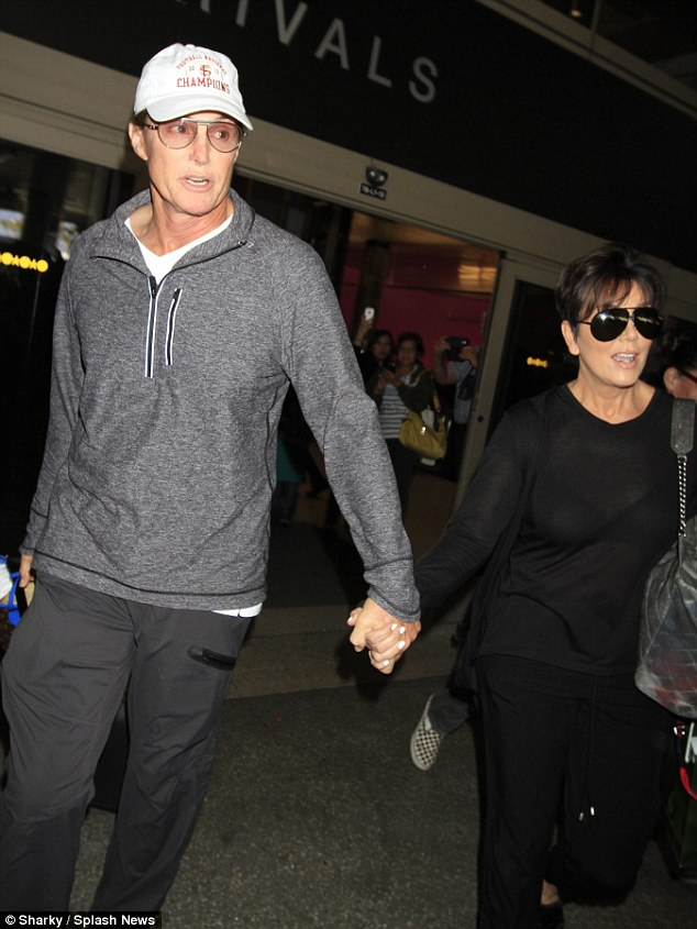 Watched together: Kris and Bruce, who split in 2013 after 22 years of marriage and finalized their divorce  in December 2014, apparently watched the Diane Sawyer special together