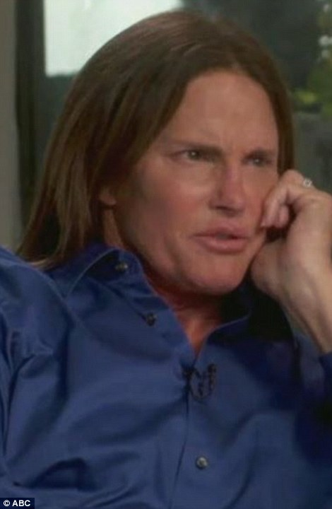 Bruce's bombshell: Bruce Jenner's face has changed dramatically over the years, and the star is finally speaking out about speculation that he is transitioning from a man to a woman. He confirmed this is the last time he will appear as Bruce before becoming 'her'