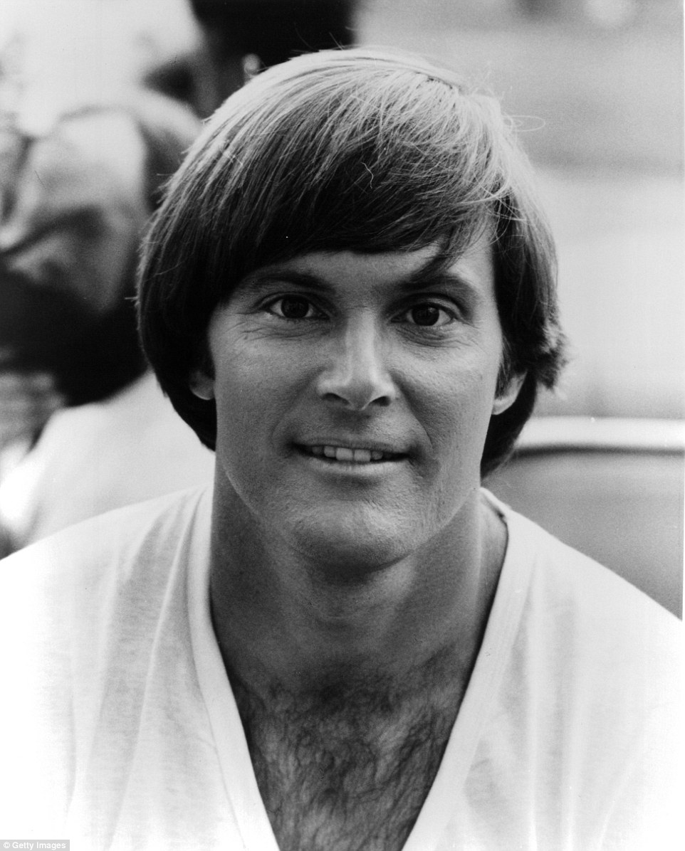 His eyes have barely changed, but Bruce is now virtually unrecognizable as the testosterone-fueled man pictured here in 1981