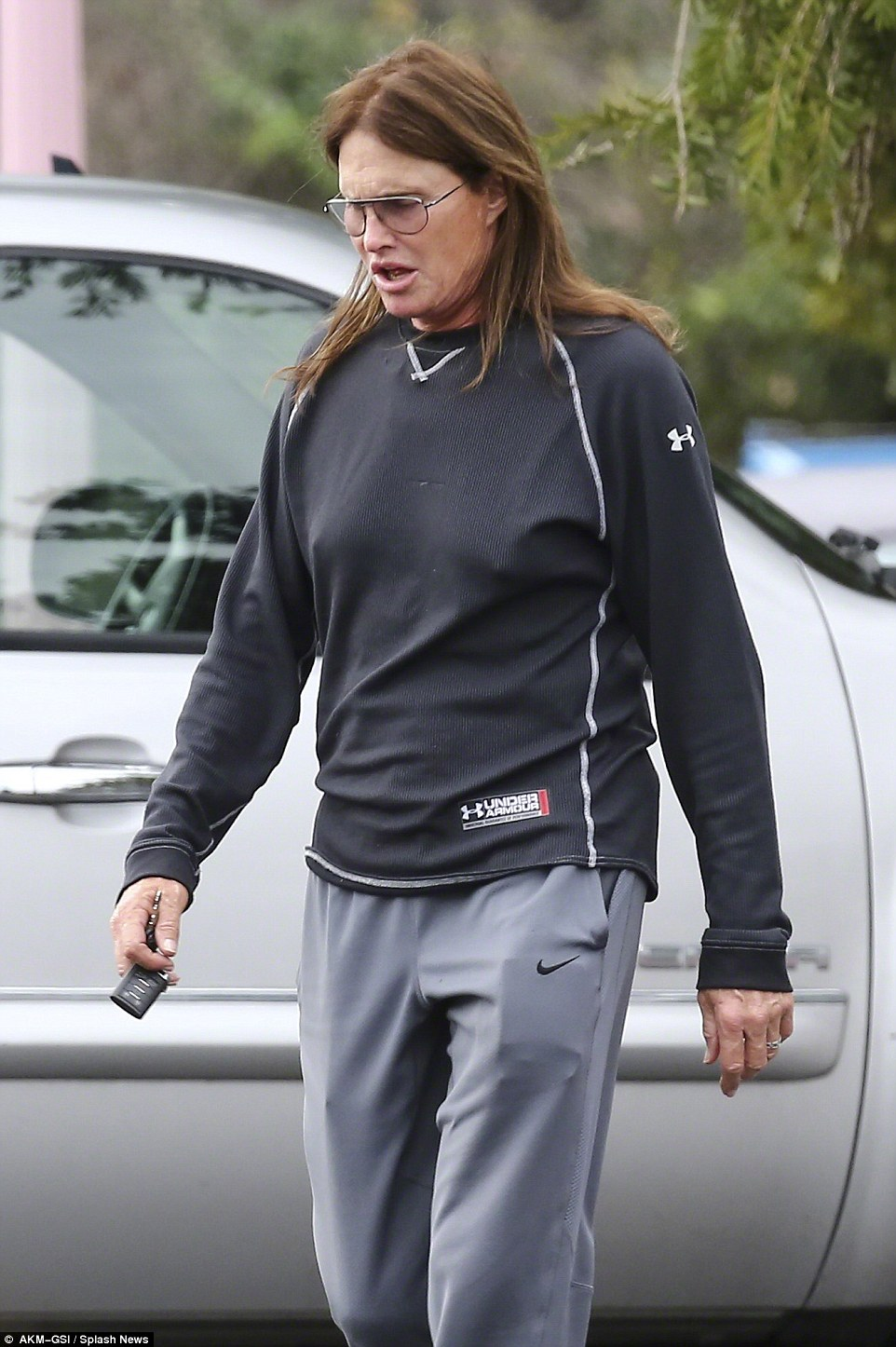 Changing body: In March, Bruce sparked further speculation about his plans to transition, when he was pictured with what appeared to be breasts, just a few months after it was reported that he had undergone a breast augmentation